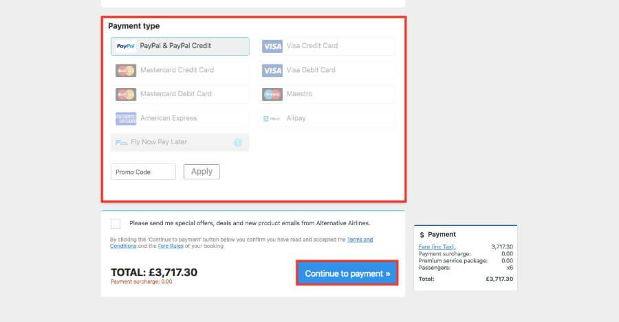 402532dcda Group Bookings Step 5