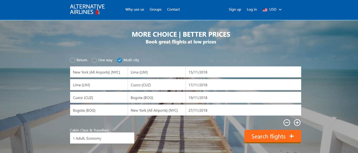 multi stop flights more choice better prices